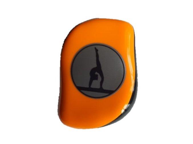 Hřeben s krytem oranžový