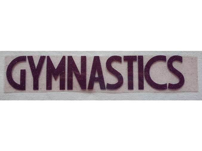 Nažehlovačka Gymnastics fialová 2