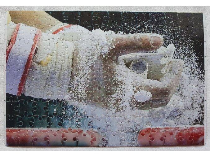 Gymnastické puzzle magnetické - Gymnastický řemínek