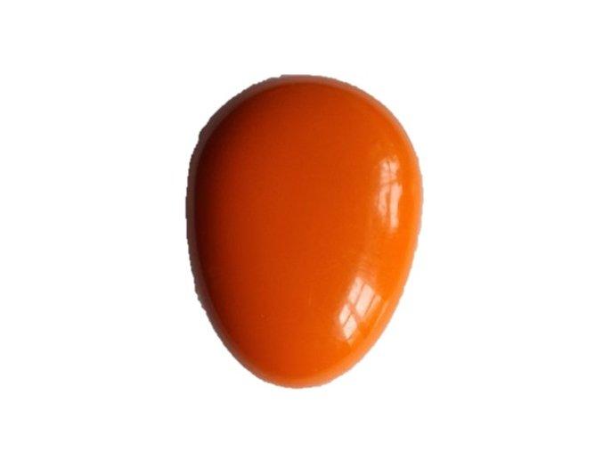 Hřeben vajíčko oranžové