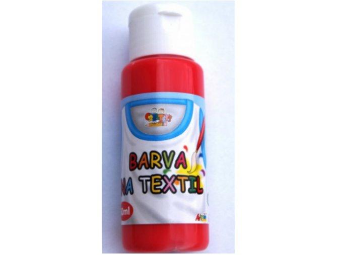 barvy na textil cherry red 60 ml