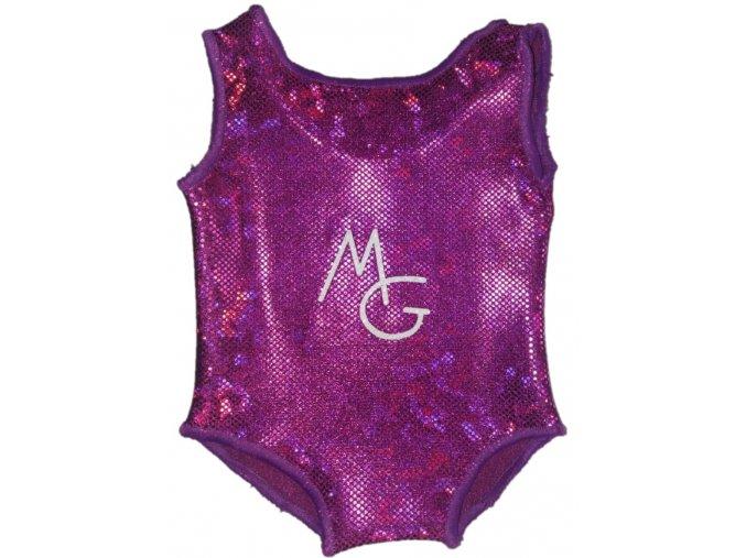 Minidres fialová holo