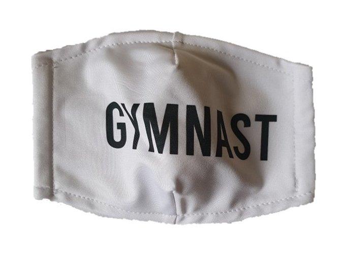 Rouška bílá Gymnast