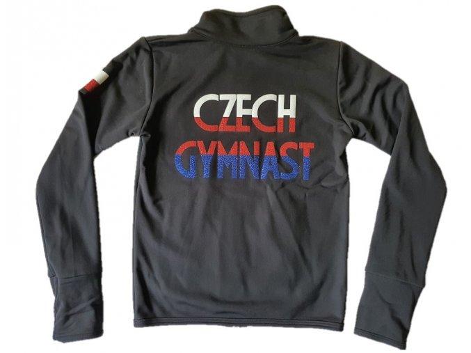Mikina warm černá Czech Gymnast 2