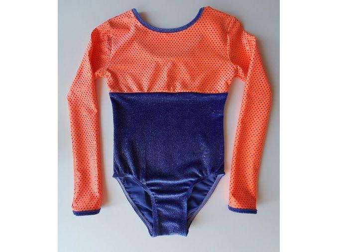 Dres Nella glitt. violett, orange