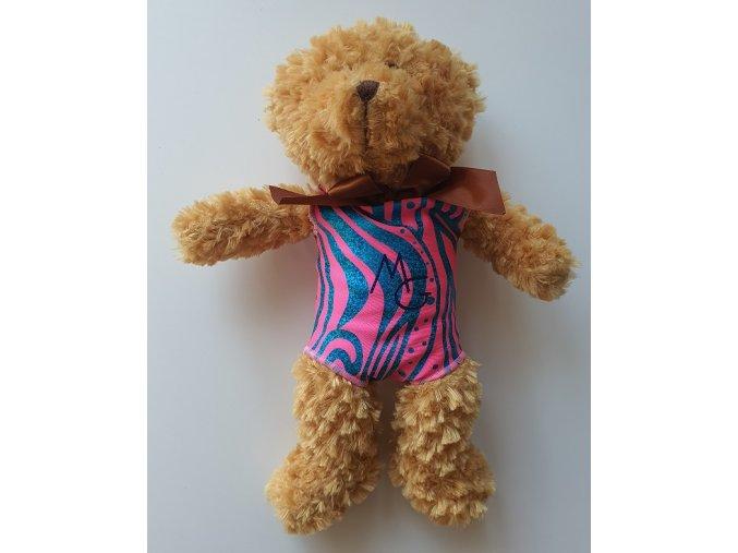 Plyšák - Hnědý medvěd v dresu