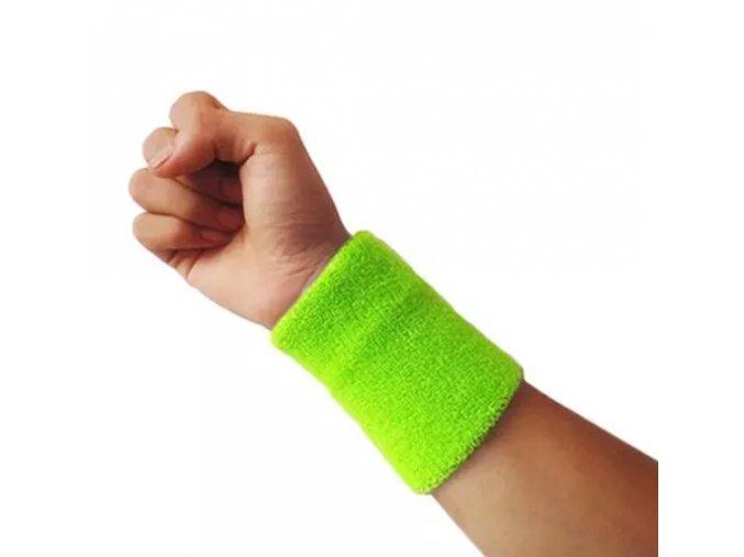 potítka neon zelená