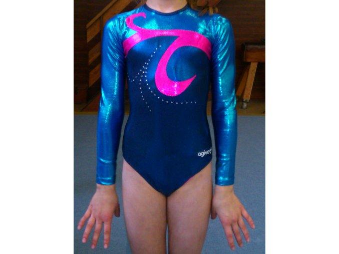 Gymnastický dres - 8619