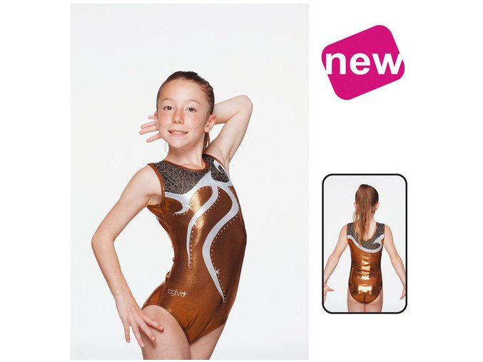 Gymnastický dres - 8683