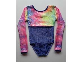 Dres Nella glitt. violett, Sparkly rainbow
