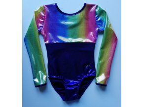 Dres Nella violett, rainbow multi