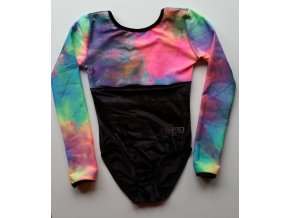 Dres Nella black, flash rainbow