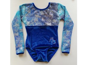 Dres Nella royalblue, sparkly blue