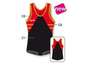 Gymnastický dres - 8011