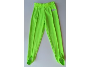 Šponovky neon zelená