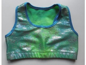 TOP Sparkly Green