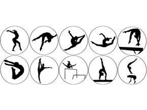 Nálepka Gymnastky mix