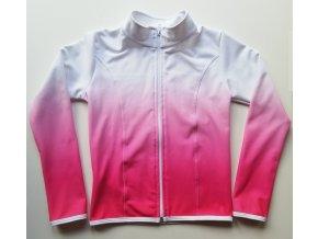 Mikina - WARM - Pink Ombré