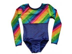 Dres Nella glitt.violett, rainbow shine