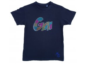 Tričko černé GYM