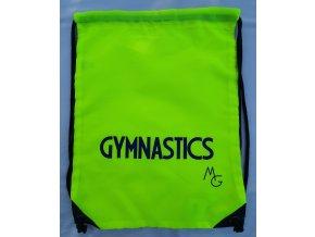 Gymsack foil neon žlutá, modrá