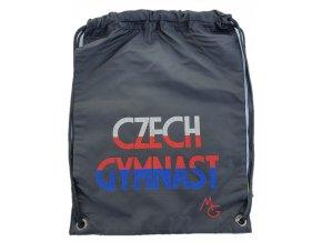 Gymsack Czech gymnast černá