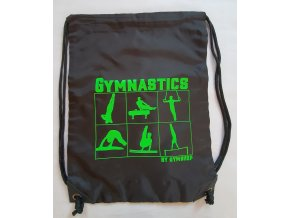 Gymsack Apparatus boys, black, green