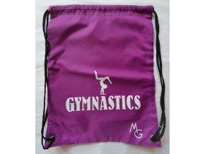 Gymsack gymnastics růžová middle