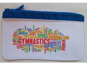Taštička modrá Gymnastics mix