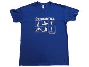 Tričko Apparatus boys tmavě modré funkční