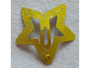 Sponky hvězdičky malé žluté