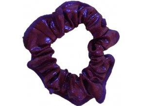 Gumička lesklá violett brown