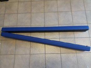 Gymnastická skládací kladina tmavě modrá