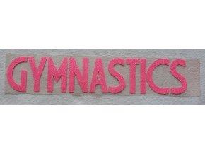 Nažehlovačka Gymnastics růžová