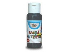 barvy na textil černá 60 ml