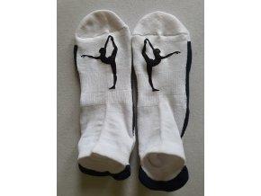 Ponožky Sneaker Silueta černá