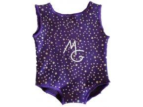 Minidres Violett dots