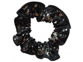 Gumička Black silver