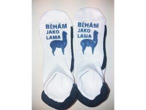 ponožky běhám jako lama1