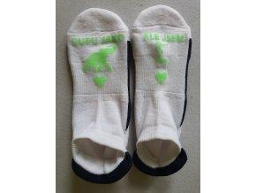 Ponožky Sneaker Dupu jako slon zelená