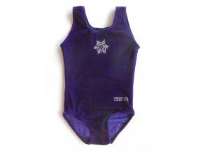 Dres Training samet dark violett