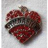 Přívěšek Heart červené