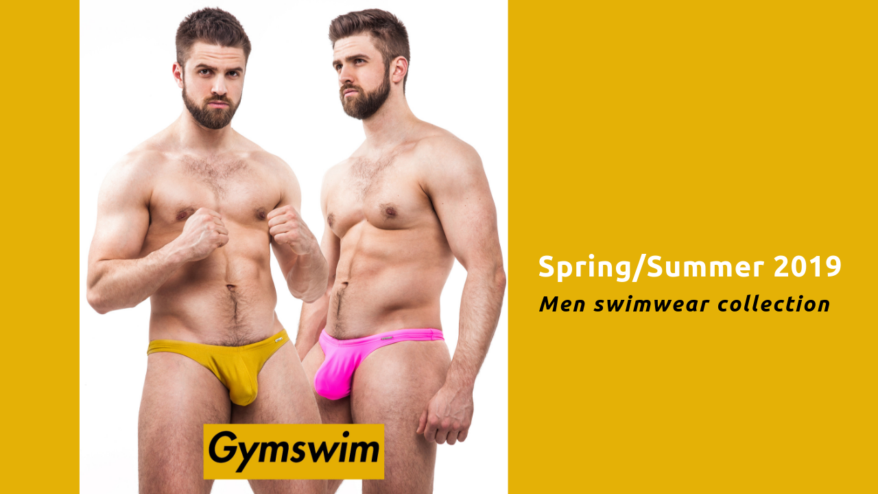 [Designer talk] GymSwim men swimwear collection Spring/Summer 2019