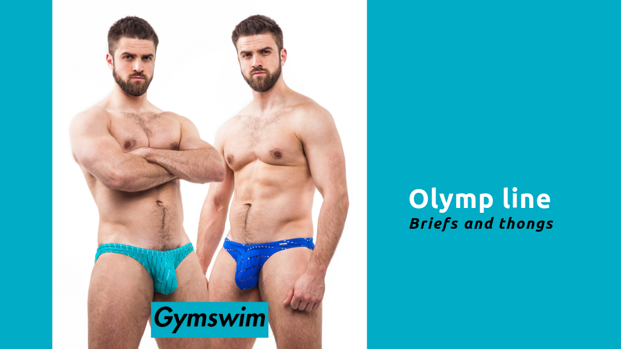 GymSwim Olymp line - briefs and thongs