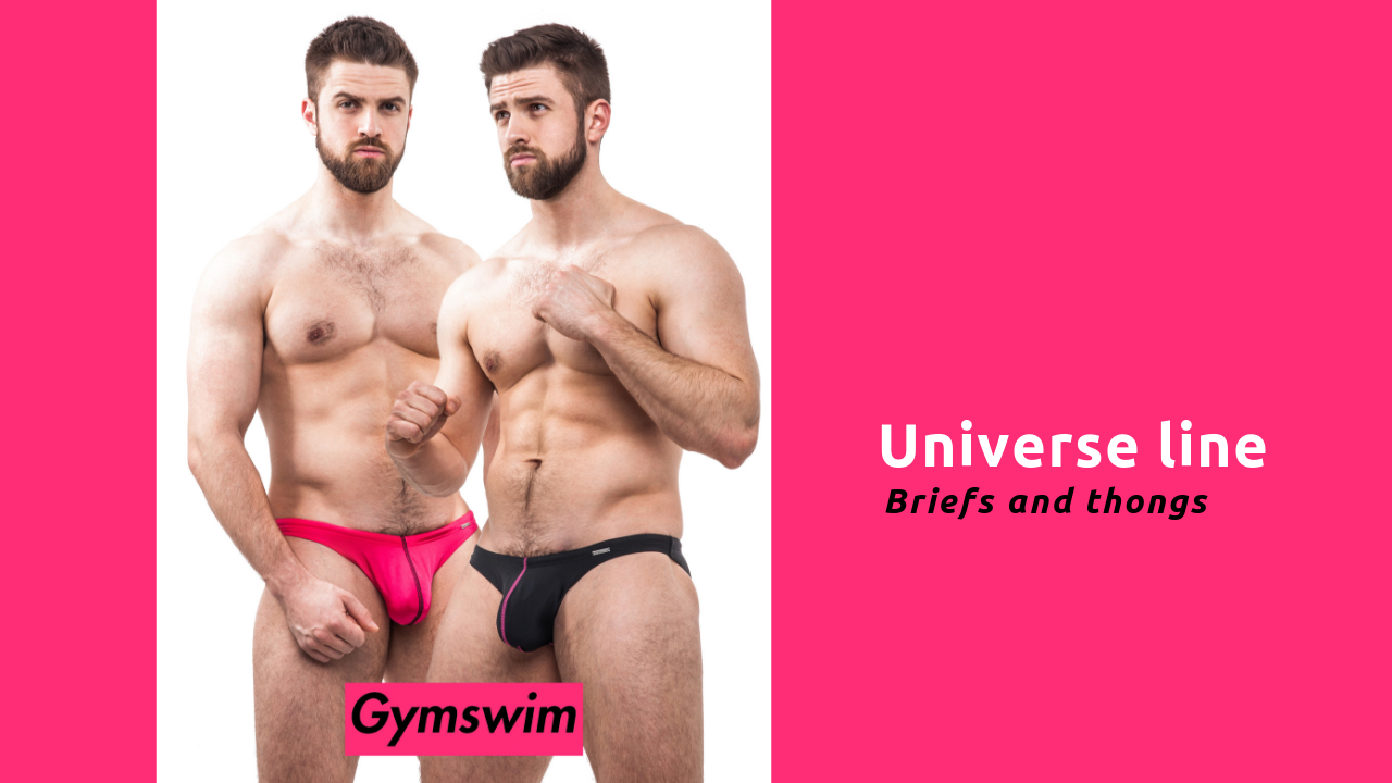 GymSwim Universe line - briefs and thongs