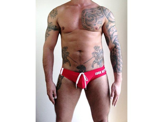 Pride LBN push-up men´s brief Red