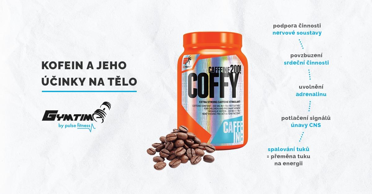 Kofein a jeho účinky na tělo