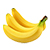 přírodní banán