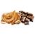 čokoláda - arašídové máslo