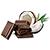 belgická čokoláda - kokos